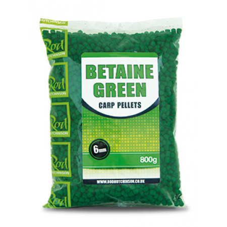 Rod Hutchinson Carp Pellets (mehrere Optionen) - Rod Hutchinson Carp Pellets 'Betaine Green' 6mm (800g)