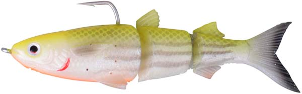 Savage Gear 3D TPE Mullet - Lemon Back