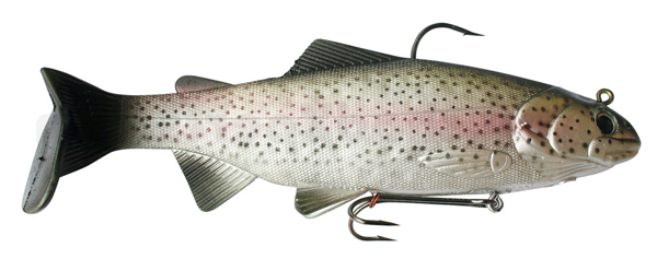 Reaction Strike Bass Harasser 6''/15 cm (wählt aus 3 Farben) - Rainbow Trout