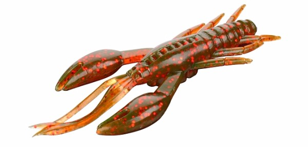 Mikado Cray Fish 10cm - Brown/ Red