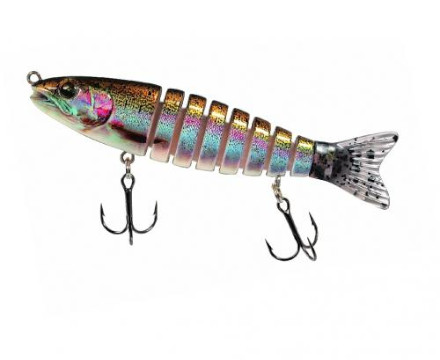 Jenzi Corrigator Jeronimo Swimbait - Gold Trout