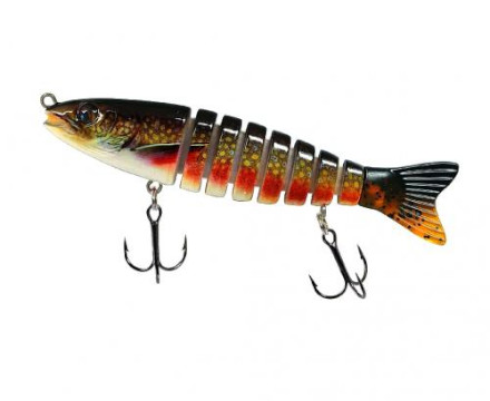 Jenzi Corrigator Jeronimo Swimbait - Rainbow Trout