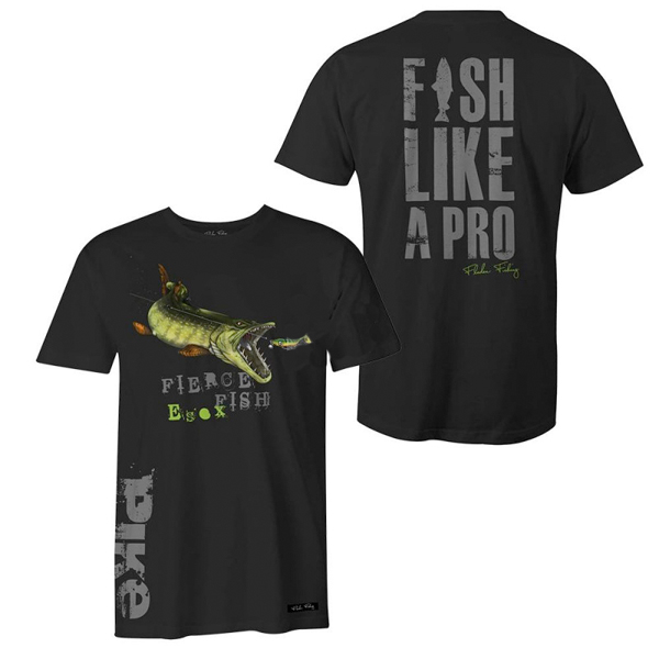 Fladen T-shirt Hungry Pike