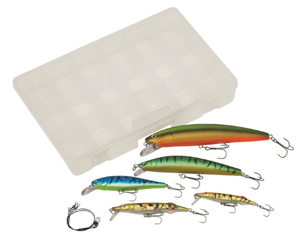 Kinetic Lure Kit Pike inklusive Tacklebox