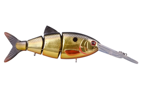 Spro Swimbait BBZ-1 Crank-N-Shad (10 Optionen) - Metallic Gold Shad