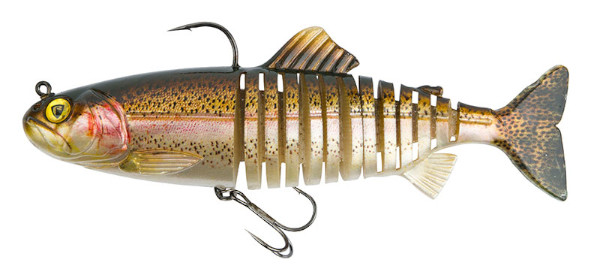 Fox Rage Replicant Super Natural Trout Jointed & Wobble (6 Optionen) - Jointed Rainbow Trout: