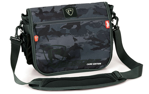 Fox Rage Voyager Camo Messenger Bag + 2 Tackleboxen