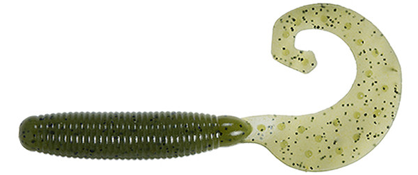 Reins Fat G Tail Grub - 001 Watermelon Seed