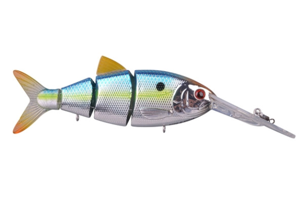 Spro Swimbait BBZ-1 Crank-N-Shad (10 Optionen) - Metallic Sexy Blue Back