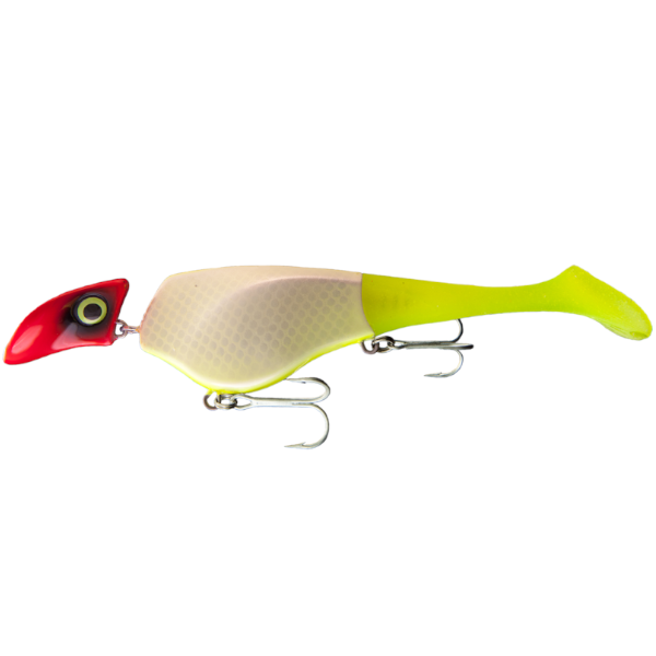 Headbanger Shad 22 cm Floating 61g (mehrere Optionen) - UV Clown