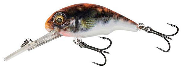 Savage Gear 3D Goby Crank 4cm - UV Orange