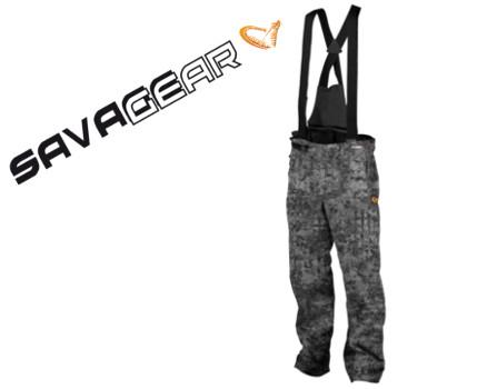 Verschiedene Größen Black Savage Trousers Grey Savage Gear Wasserdicht