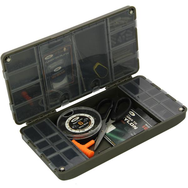 NGT Tacklebox Karpfen Angeln 4+1 Terminal Zubehör Box System Bit Boxen