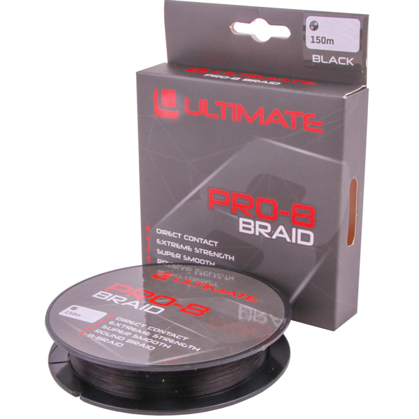 Undercover Static Deadbait Set - Ultimate Pro-8 Braid Geflechtschnur, schwarz