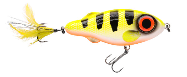 Spro Iris Flashjerk 115 - Hot Perch