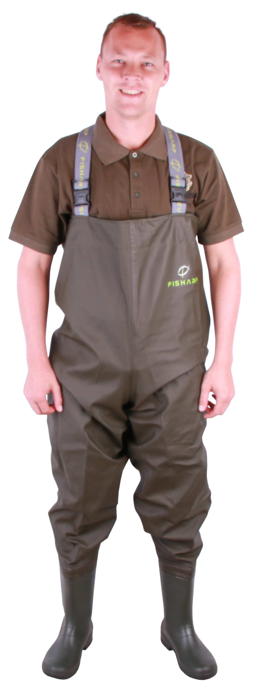 Fisharp Lightweight Chest Waders Olive