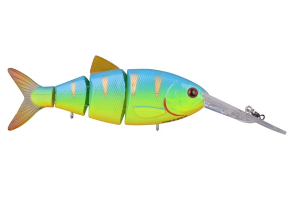 Spro Swimbait BBZ-1 Crank-N-Shad (10 Optionen) - Blue Back Chartreuse