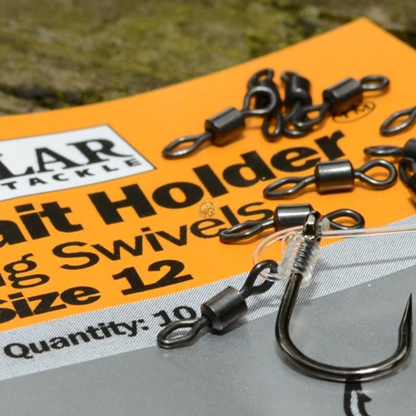 Solar Bait Holder Rig Swivels Size 12, 10 St.!