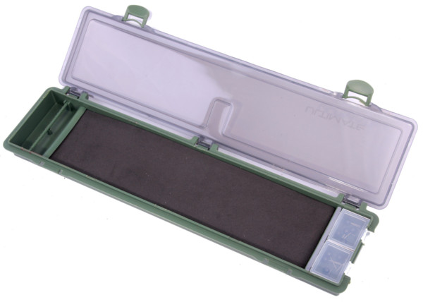 Ultimate Rigbox inkl. 20 Mikado Carp Rigs und 2 Baiting Needles