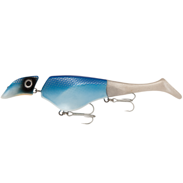 Headbanger Shad 22 cm Floating 61g (mehrere Optionen) - Blue Pearl