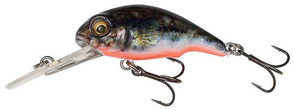 Savage Gear 3D Goby Crank 4cm - UV Red & Black