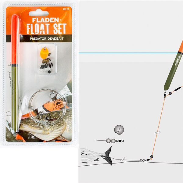 Fladen Deadbait Float Set