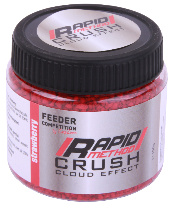 Carp Zoom Rapid Method Crush, 100g - Strawberry