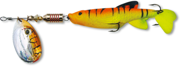 Zebco Minnow Flyer - Orange/Silver