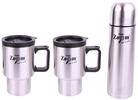 Carp Zoom Thermosflasche & Becher Set