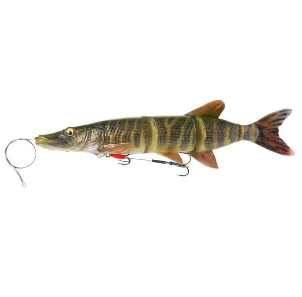 Savage Gear 4D Line Thru Pike 25cm (mehrere Optionen) - Striped Pike