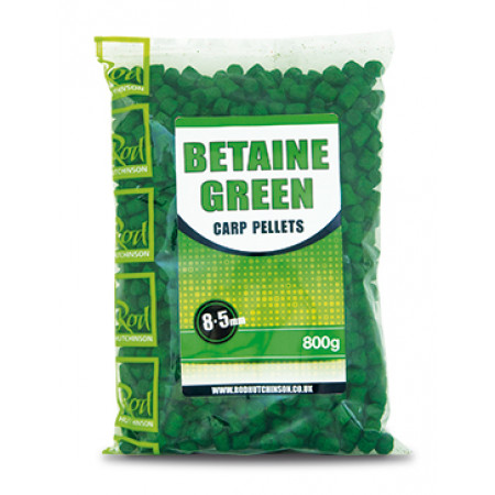 Rod Hutchinson Carp Pellets (mehrere Optionen) - Rod Hutchinson Carp Pellets 'Betaine Green' 8.5mm (800g)