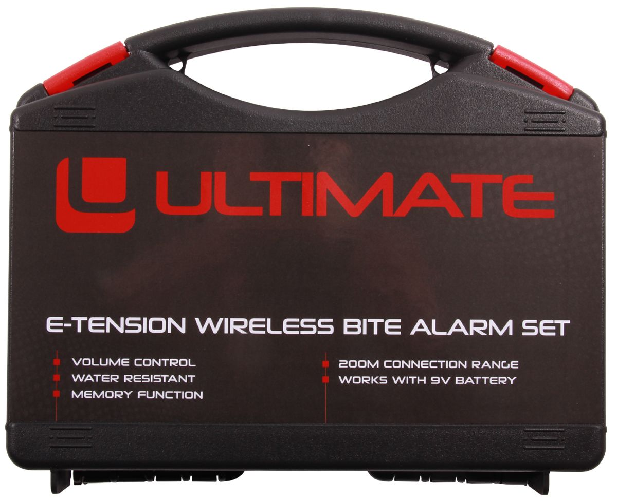Ultimate E-tension Bite Alarm Set