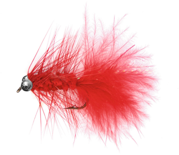 Magic Trout Kunstfliegen (5 Optionen) - Quiver Red