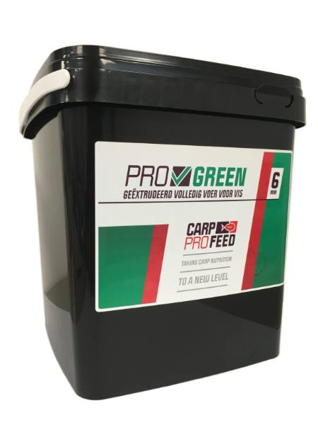 Carp Pro Feed Pellets 6mm - Green