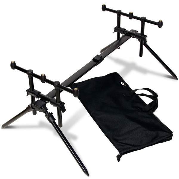 NGT Quickfish 3-Rod Pod inklusive Case