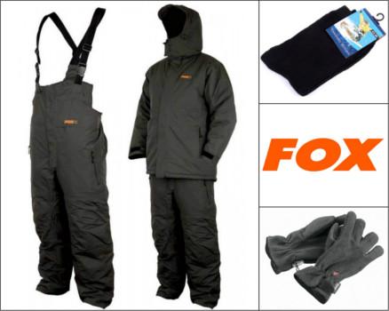 Anzug Fox Carp Winter Suit Angelsport