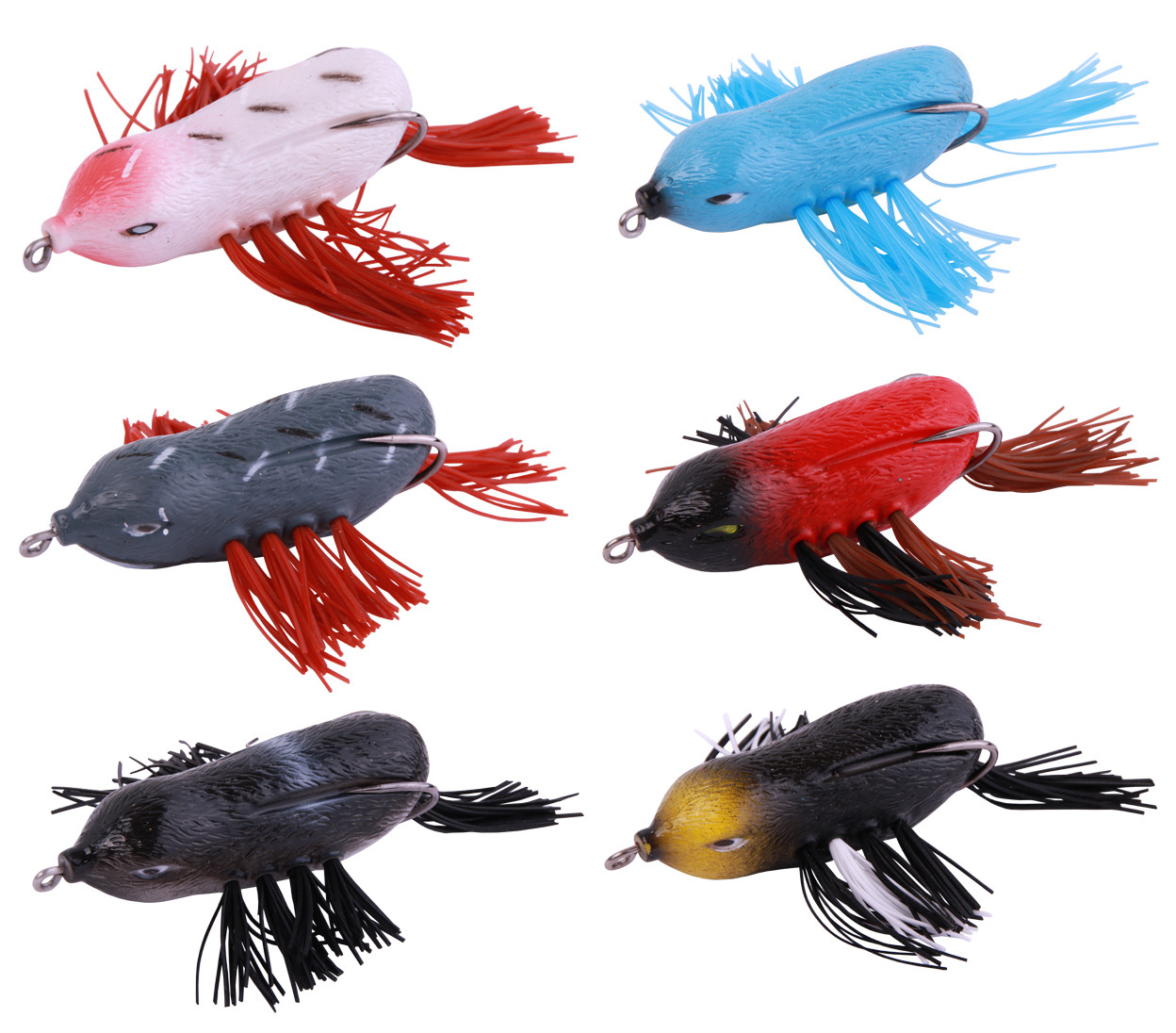 6 x Flip The Bird Topwater 7cm