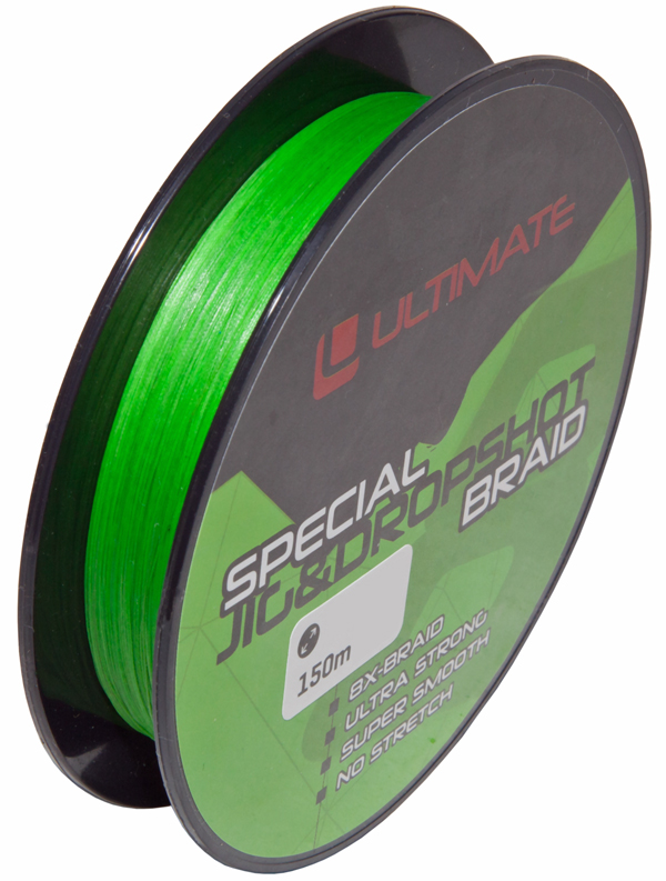 Ultimate Special Jig & Dropshot Braid Fluo Green