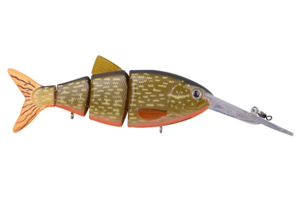 Spro Swimbait BBZ-1 Crank-N-Shad (10 Optionen) - Orange Belly Pike