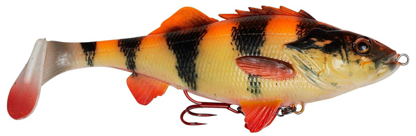 Savage Gear 4D Perch Shad 17,5cm (mehrere Optionen) - Albino