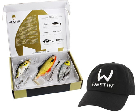 Westin Gift Box - European Pike Selection Small + Westin Classic Cap