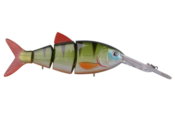 Spro Swimbait BBZ-1 Crank-N-Shad (10 Optionen) - Green Perch
