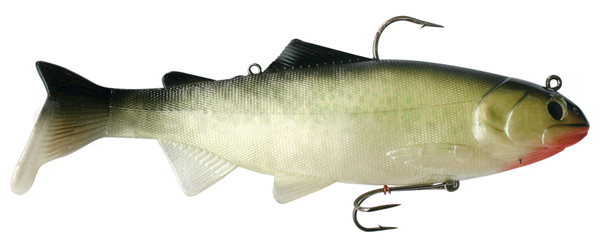 Reaction Strike Bass Harasser 6''/15 cm (wählt aus 3 Farben) - Hitch, Red Throat