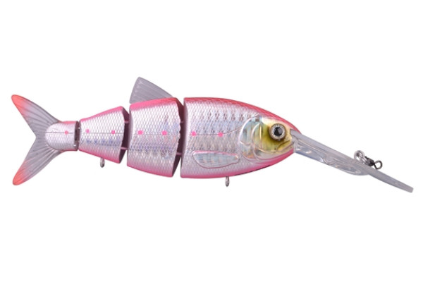 Spro Swimbait BBZ-1 Crank-N-Shad (10 Optionen) - Pink Back Herring