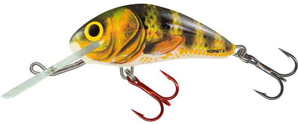 SUPERDEAL! Salmo Hornet 6cm Floating (9 Optionen) - Real Identity Perch (RIP)