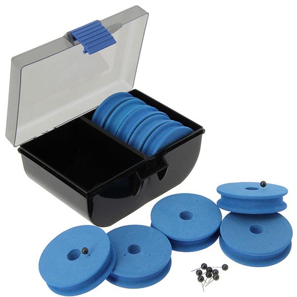 Praktisches System zum Aufbewahren der Vorfächer, Zig Rigs und Dropshot Montagen