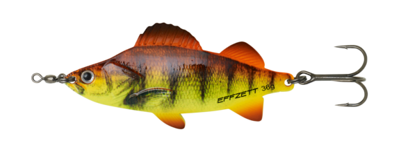 Effzett Perch Spoon (mehrere Optionen) - Orange Perch UV