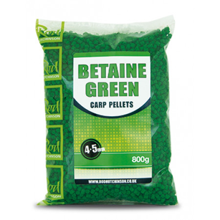 Rod Hutchinson Carp Pellets (mehrere Optionen) - Rod Hutchinson Carp Pellets 'Betaine Green' 4.5mm (800g)