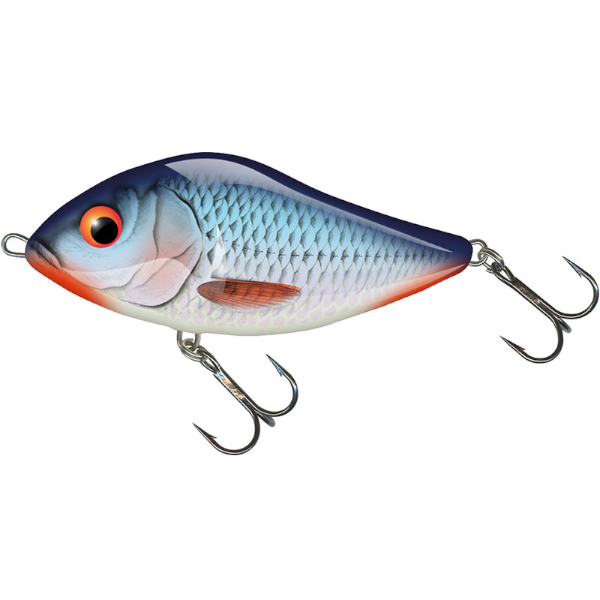 Salmo Slider 7cm Floating (mehrere Optionen) - Bleeding Blue Shad
