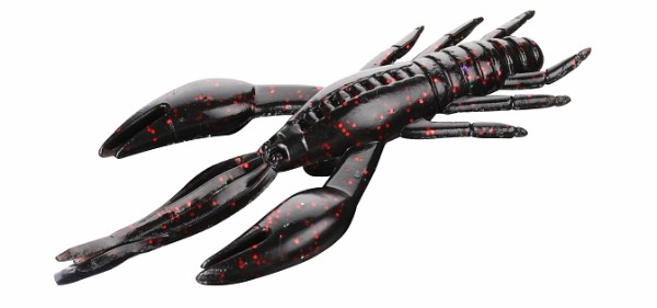 Mikado Cray Fish 10cm - Black/ Red